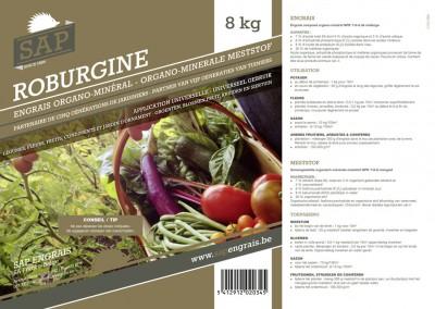 Engrais Sap Roburgine 8 Kg
