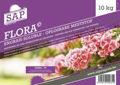 engrais soluble SAP Flora 10kg