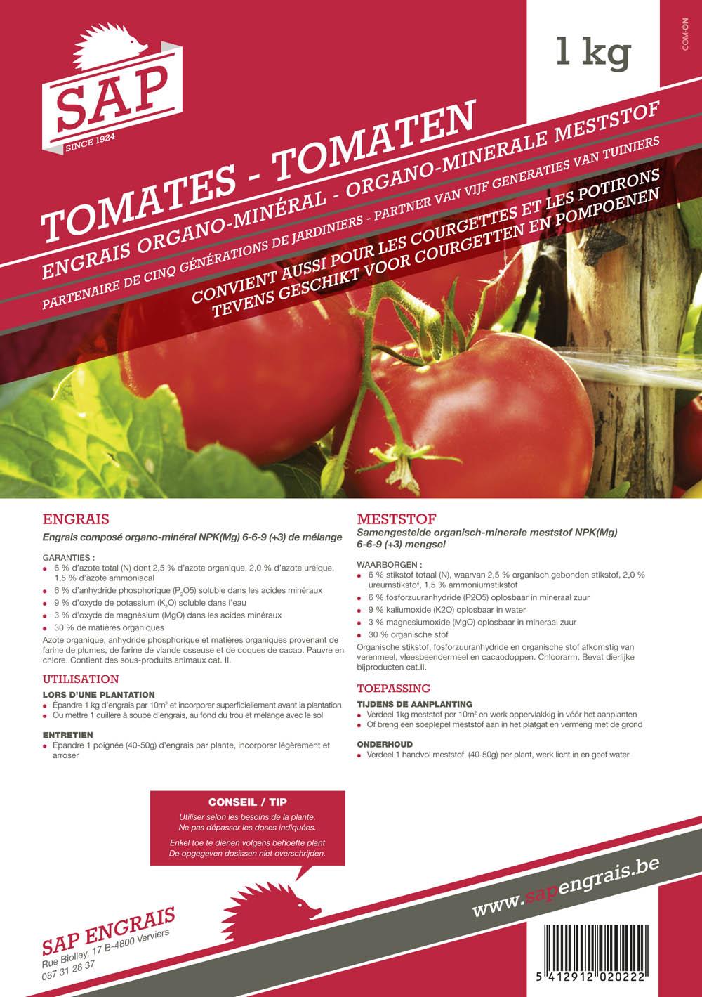 Engrais SAP Tomates 1kg