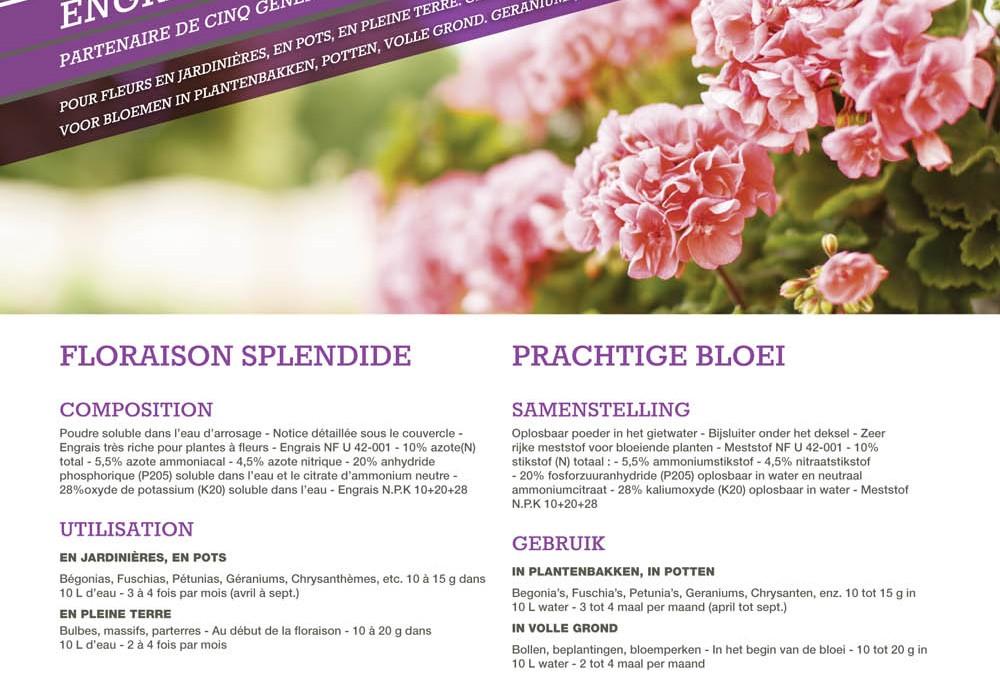 engrais soluble SAP Flora 20kg