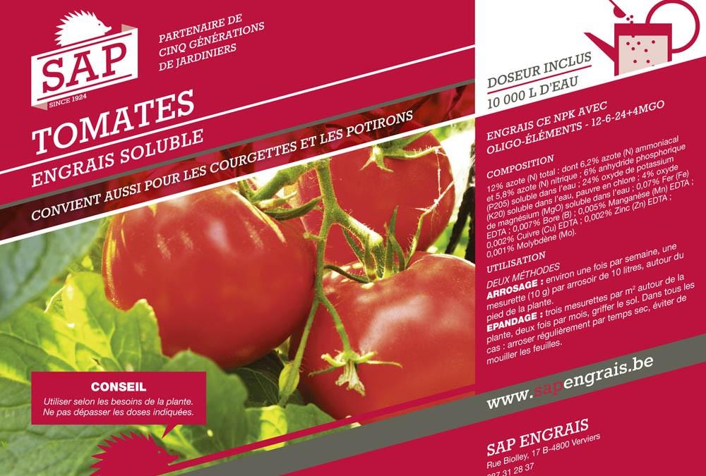 engrais soluble SAP Tomates pot