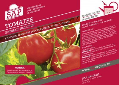engrais soluble SAP Tomates pot
